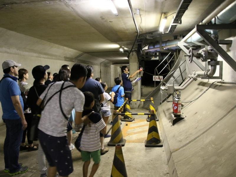 東京湾アクアライン地下施設/イメージ