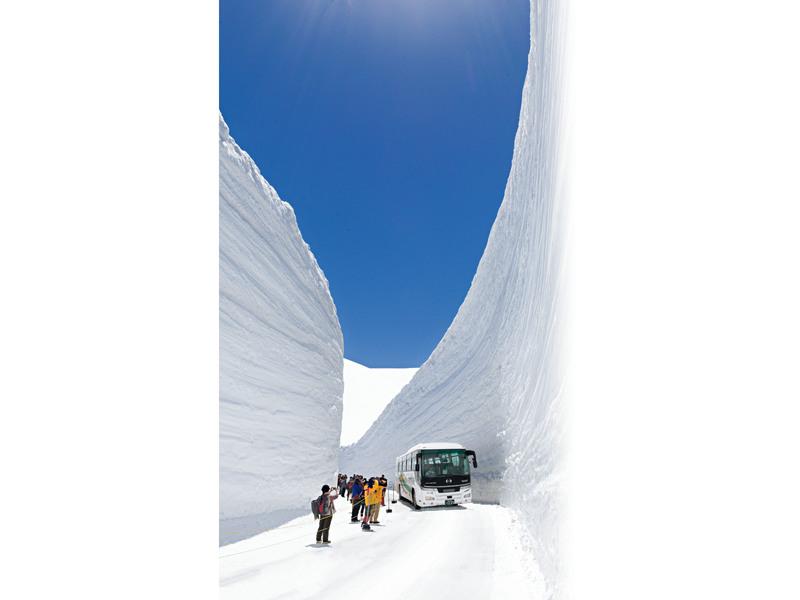 雪の大谷/イメージ